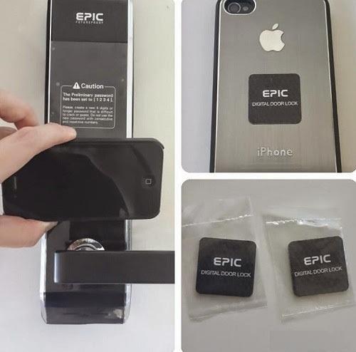 Khóa thẻ từ, mã số EPIC ES-809L 2