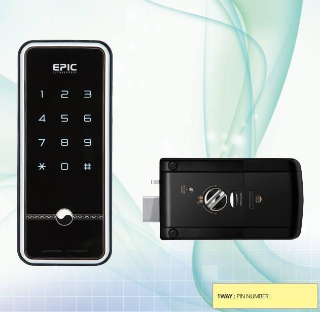 Khóa mã số EPIC N-Touch 3